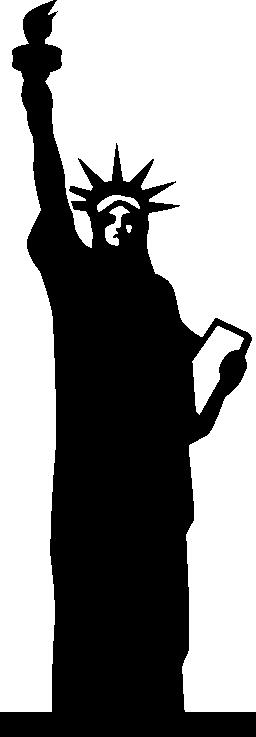 自由の彫像ニューヨーク (EEUU) 無料アイコン