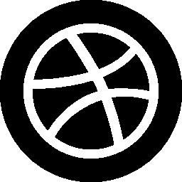 無料ベクトルのアイコンの最大のデータベースバスケット ボール ブラック サークル無料アイコン