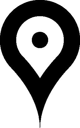 マップと geolocalization 無料のアイコンのためのピン
