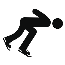 スケートの男無料アイコン