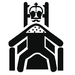 彼の王位の無料アイコンの王