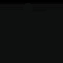 男性練習空手無料アイコン