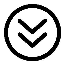 無料のアイコンに下向きの矢印