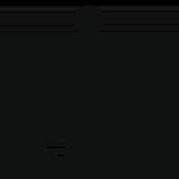 男とゴミ箱コンテナーの無料アイコン