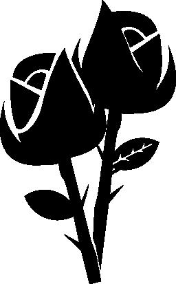 いくつかのバラ無料アイコン