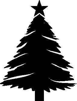 クリスマス ツリー無料アイコン