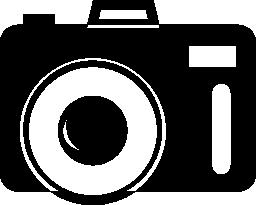 写真カメラ無料アイコン