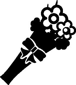 無料アイコンの花の花束