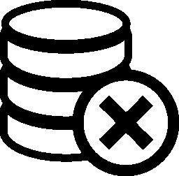 無料アイコンのデータベースを削除します。