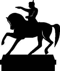 ナポレオンの無料アイコンの像