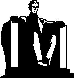 リンカーン記念像 EEUU 無料アイコン