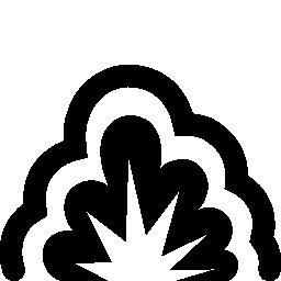 爆発無料アイコン