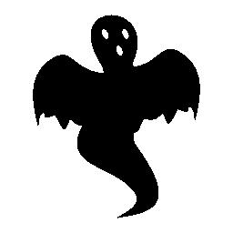 ハロウィーン ゴースト無料アイコン