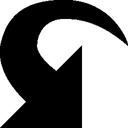 リフレッシュ インターフェイス無料アイコンの矢印