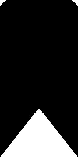 リボン形状バリアント インターフェイス無料アイコン