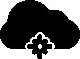 雪の天気無料アイコン