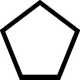 米国防総省の幾何学図形概要無料アイコン