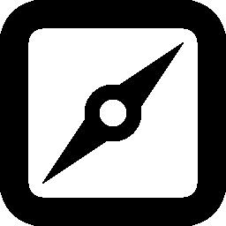 正方形コンパス ツール無料アイコン