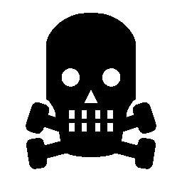 頭蓋骨のハロウィーン無料アイコン