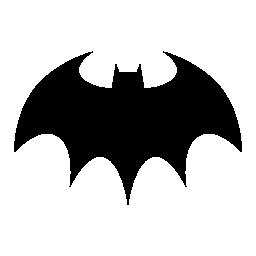 バット ハロウィーン無料アイコン