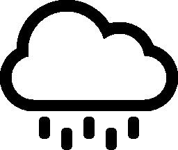 雨の雲の無料のアイコン