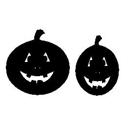ハロウィーンのカボチャ無料アイコン