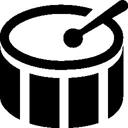バチ無料アイコンとドラムします。