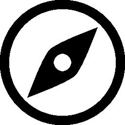 コンパスの西の北の無料のアイコン