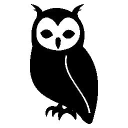 フクロウ、鳥、動物の無料アイコン