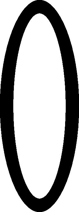 大きなリング無料アイコン