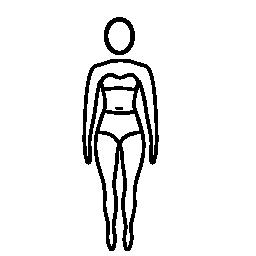 無料ベクトルのアイコンの最大のデータベース女性の無料のアイコンのヨガ姿勢