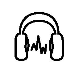 無料ベクトルのアイコンの最大のデータベースヘッドフォン無料アイコンでの音