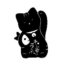 日本の猫の無料のアイコン
