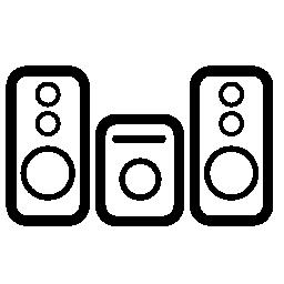 メディア オーディオ機器無料アイコン