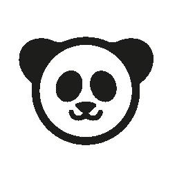 パンダのクマ無料アイコン