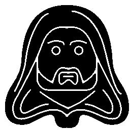 無料ベクトルのアイコンの最大のデータベーススターウォーズの文字正面頭部無料アイコン