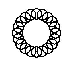 無料ベクトルのアイコンの最大のデータベーススパイラル無料アイコンの円環