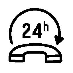 無料ベクトルのアイコンの最大のデータベース無料ベクトルのアイコンの最大のデータベース24 時間電話サービス無料アイコン