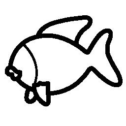 魚側表示無料アイコン
