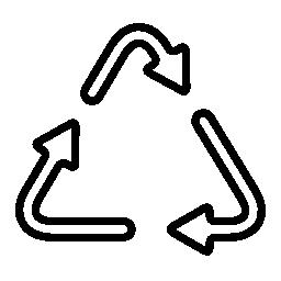 エネルギー リサイクル無料アイコン