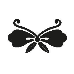 日本蝶形無料アイコン