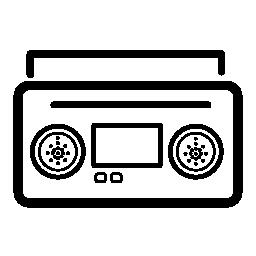 Radiocassette 無料のアイコン