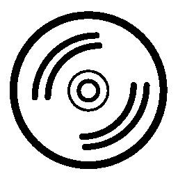 無料ベクトルのアイコンの最大のデータベースコンパクト ディスク無料アイコン