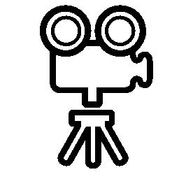 古いビデオ カメラ無料アイコン