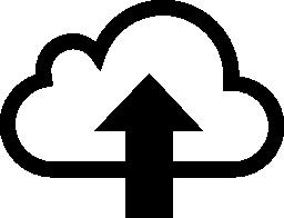 雲の無料のアイコンをアップロード
