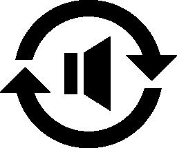 オーディオ変換無料アイコン