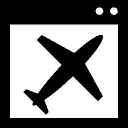 ランディング ページの無料のアイコン