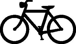自転車や自転車の無料アイコン