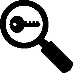 キーワードの研究の無料のアイコン