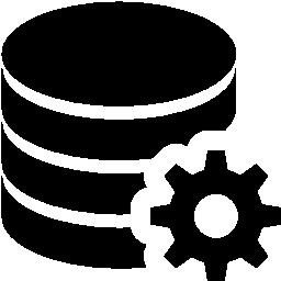 データベース構成の無料アイコン